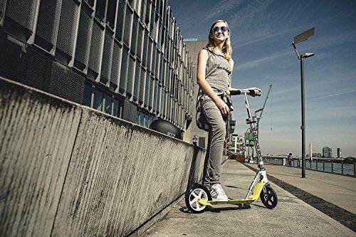 HUDORA 180 Kick Adult Teen Big Wheels, Adjustable Height, Easy