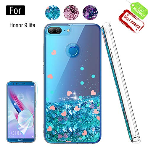 promo code 980a6 8aa1c ATUMP Case for Huawei Honor 9 lite with Screen Protector, Girl Women ...