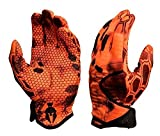 Kryptek Krypton Camo Hunting Gloves, Inferno, S