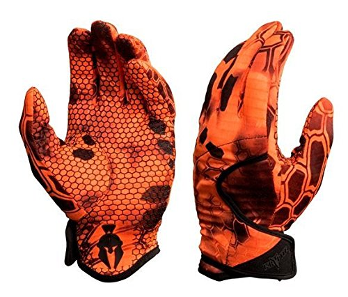 Kryptek Krypton Camo Hunting Gloves, Inferno, M