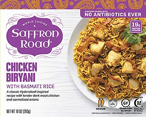 Saffron Road Antibiotic Free Chicken Biryani With Basmti Rice, 10 Oz (pack Of 8)