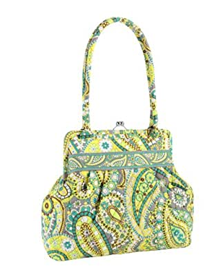 Vera Bradley Alice Purse Shoulder Bag (Lemon Parfait)