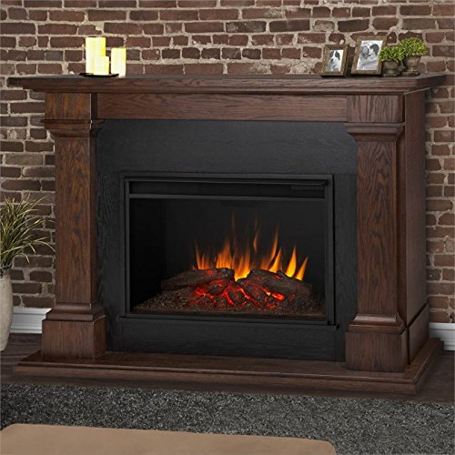 real flame electric fireplace - 8