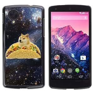 YOYOSHOP [Funny Taco Dog Meme Illustration] LG Google Nexus 5 Case
