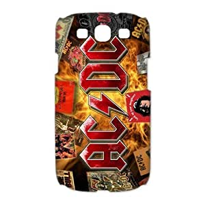 Samsung Case AC/DC Music Poster ACDC Band Samsung Galaxy S3 I9300 I9308 I939 Case Cover