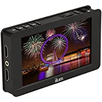 Ikan 5 4K Support HDMI On-Camera Field Monitor with Touch Screen, Black (DH5e)