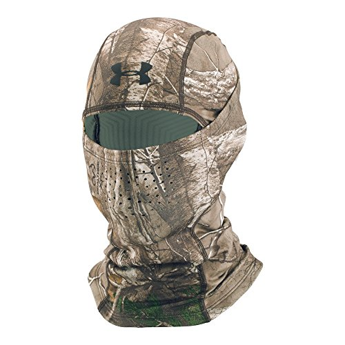 Under Armour Outdoor Coldgear Hood (Under Armour Men's ColdGear Infrared Scent Control Hood, Realtree Ap-Xtra/Black, One Size)