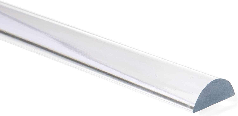 Barra semicircular de acrílico como protección para ducha ...