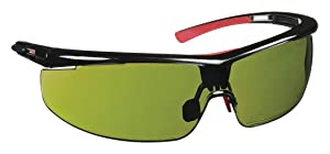 North Adaptec Shade 3.0 Translucent Black Wide Polycarbonate Standard Welding Glasses - 99.9 % UV Protection - Wrap Around Frame - T5900WTK3.0 [PRICE is per EACH]