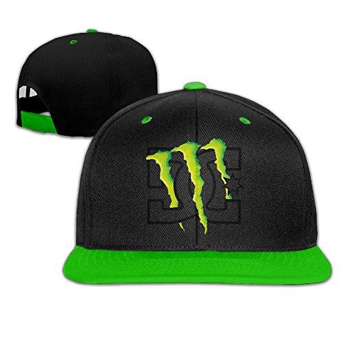 nadaki-energy-claw-logo-unisex-adjustable-hip-hop-baseball-cap-kellygreen