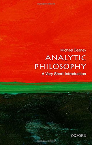 Analytic Philosophy: A Very Short Introduction (Very Short Introductions)
