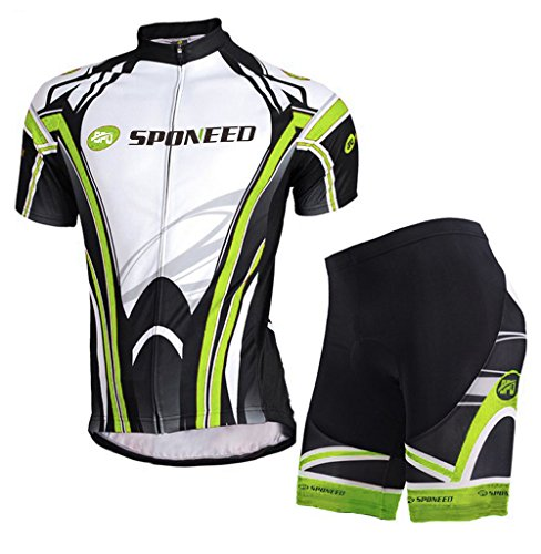 Top Bike Shorts - sponeed Bicycle Jersey Men Shorts Cycling Clothing Padded Tights Pants Breathable Asian XL/US L Multi