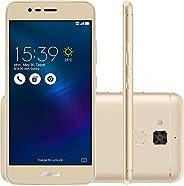 Smartphone Asus Zenfone 3 Max Dourado 16GB Dual Chip Tela 5,2 Processador MidiaTek Câmera 13MP