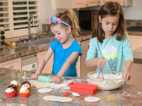 Handstand Kitchen 17-piece Introduction to Real Baking Set with Recipes for Kids by Handstand Kitchen (Image #3)
