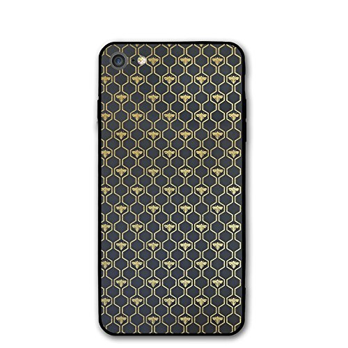 IPhone 7 Case Bee Hexagon Protective Shockproof Anti-Scratch Resistant Slim Cover Case For IPhone 7 Hard Shell