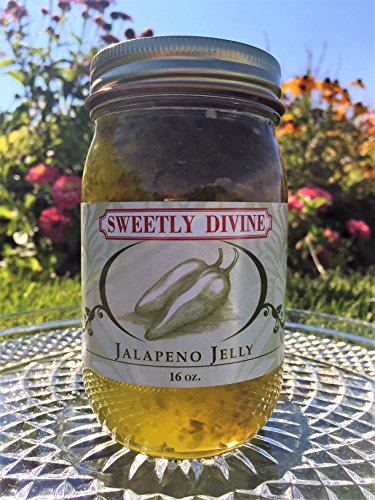 Sweetly Divine Hot Pepper Jelly (Jalapeno) - Jalapeno Jelly
