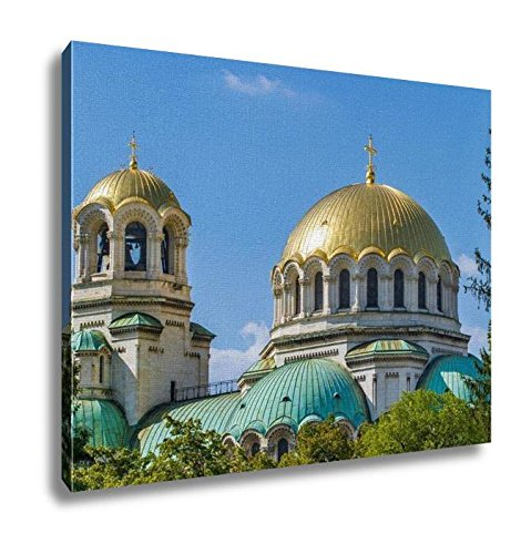 Ashley Canvas, The St Alexander Nevsky Cathedral In Sofia Bulgaria, Home Decoration Office, Ready to Hang, 20x25, AG5913628 by Ashley Canvas