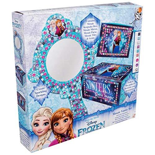Disney Frozen Mosaic Vanity Keep Sake Box Sambro