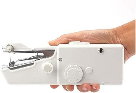 FRJYJLLL Máquina de Coser eléctrica de Mano Mini portátil Handy ...