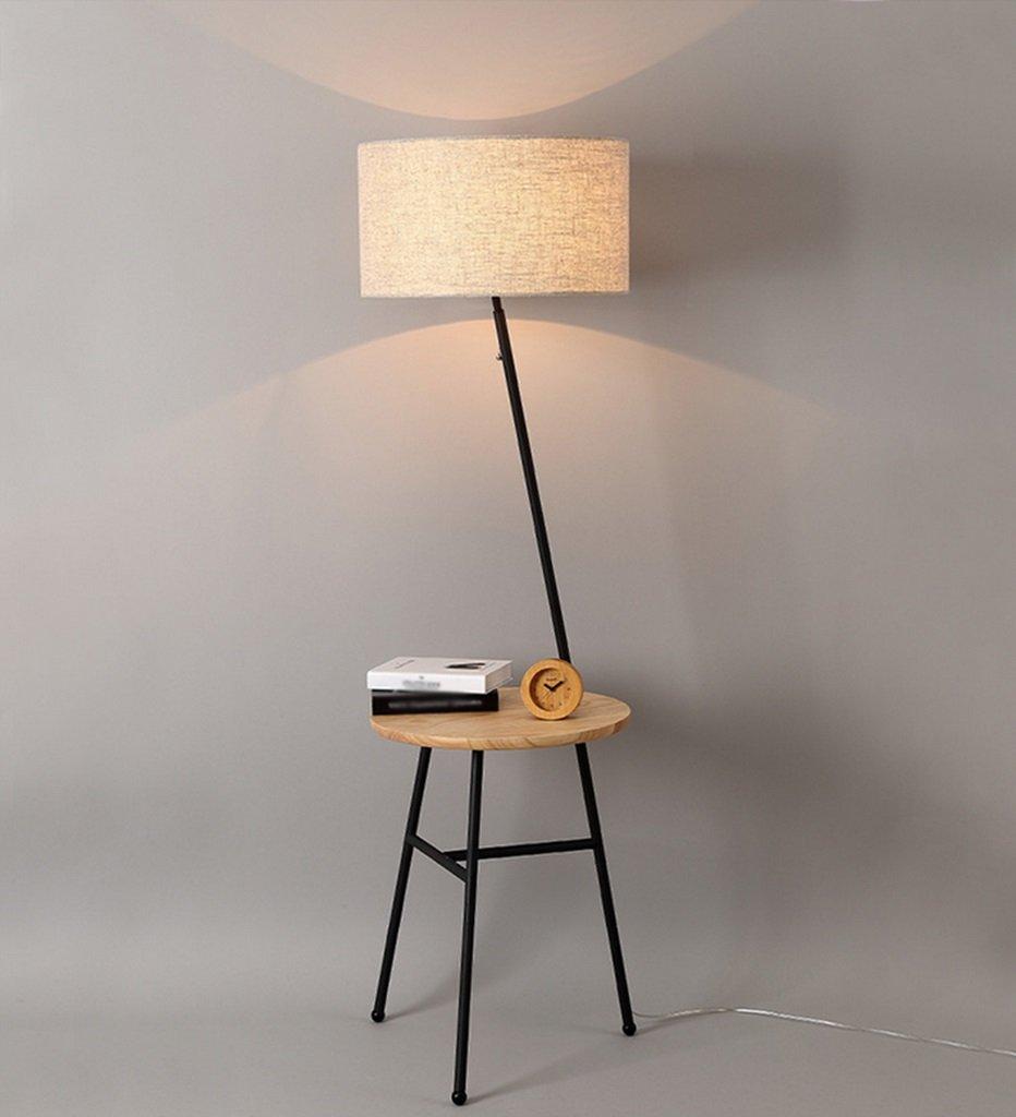 GRJH® フロアランプ、リビングルームシンプルでモダンなソファーコーヒーテーブルベッドルームアメリカンスタイルの北欧フロアランプ45 x 156 cm 淡色にすることができる,エレガントでシンプルな (色 : ブラック) B075NYQWTJ 23381  ブラック