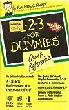QR/1-2-3 for Dummies, John Walkenbach, 1568840276
