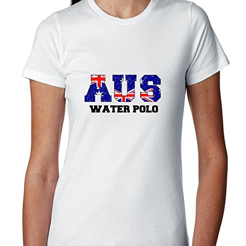 Australia Waterpolo - Olympic Games - Rio - Flag Women's Cotton - Australia Polo