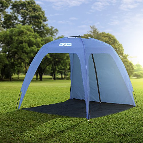 XL Open Beach Tent Neptune Sun Shade for the Whole Family! Lightweight Compact Sunshade Shelter Cabana. & Open Beach Tent Neptune: Sun Shade for the Whole Family ...