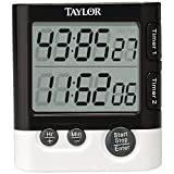 1 - Dual Event Digital Timer/Clock, 1.5'' LCD readout, Times 2 events simultaneously, 5828