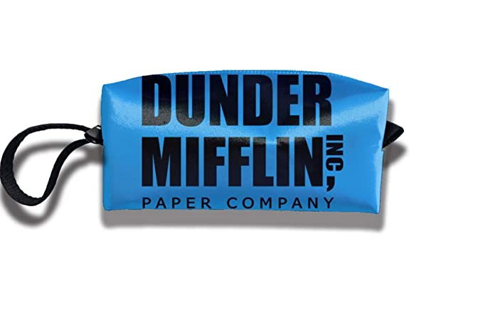 c2f34a242ae8 Amazon.com: Dunder Mifflin Paper Travelling Clutch Bags For Womens ...