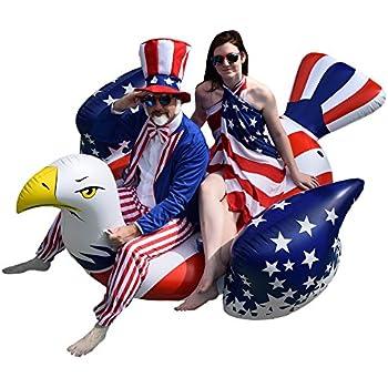 Amazon Com Giant Inflatable American Bald Eagle Premium