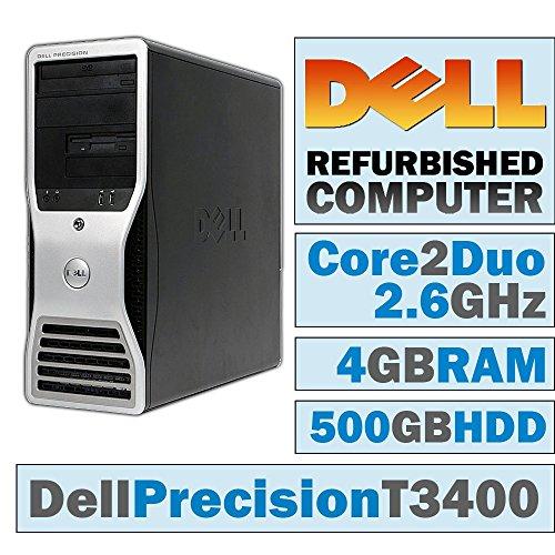 Core 2 Duo 64 Bit - Dell Precision T3400 MT/Core 2 Duo E6750 @ 2.67 GHz/4GB DDR2/500GB HDD/DVD-RW/WINDOWS 10 PRO 64 BIT