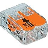 Wago 221-412 LEVER-NUTS 2 Conductor Compact Connectors 10 PK