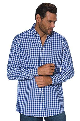 JP 1880 Homme Grandes tailles Chemise à carreaux bleu marine XL 703618 70-XL