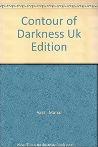 Book Contour of Darkness Uk Edition