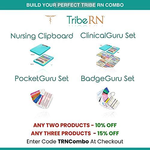 BadgeGuru Set By Tribe RN 26 Nursing Badge Reference Cards