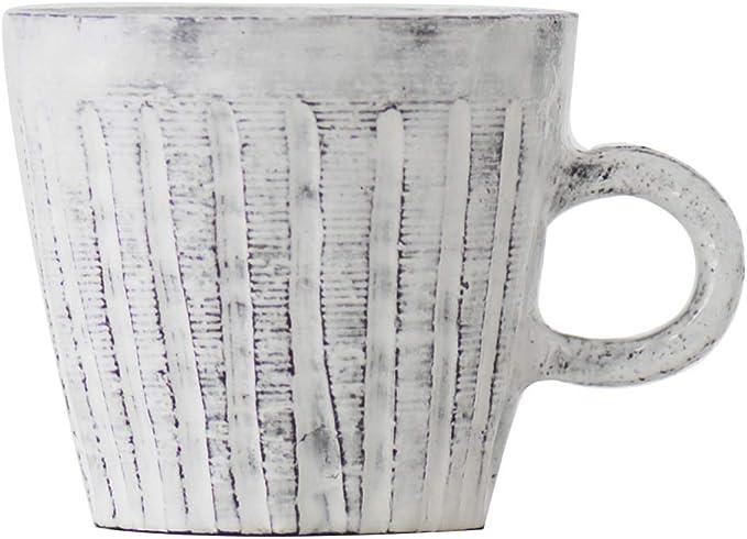White-Orange with Painted Shino Ware Ceramic Tea Cup Tea Cup Shino Cup 180ml 6oz Chawan Japanese Tea Cup