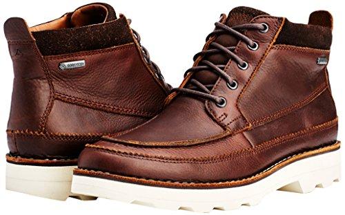 Clarks Herren Korik Rise GTX Kurzschaft Stiefel Braun (Tobacco Leather)