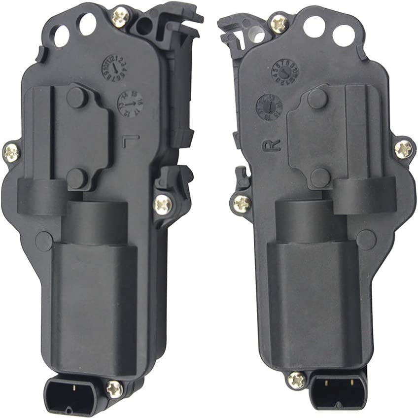 Power Door Lock Actuator Front Rear Left Right LH & RH Pair Set For Ford Truck Mustang Mercury