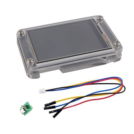 WIshioT Nextion Enhanced 2 4'' UART HMI Smart LCD Module Display NX3224K024  with Acrylic Case for Arduino Raspberry Pi ESP8266