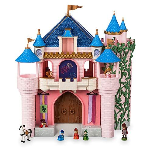 Disney Animators' Collection Deluxe Sleeping Beauty Castle Play Set No Color
