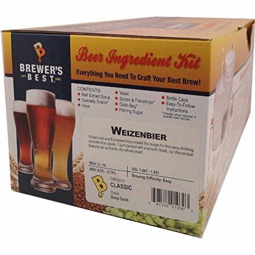Home Brew Ohio B00AI9EJ5U FBA_1148434 Brewers Best Weizenbier Beer Ingredient Kit by Home Brew Ohio (Image #1)
