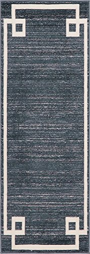 Modern Solid Uptown Collection by Jill Zarin Contemporary Area Rug