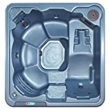 Cheap QCA Spas Model 2L Sagattarius Hot Tub, 82 by 79 by 36-Inch, Blue Denim