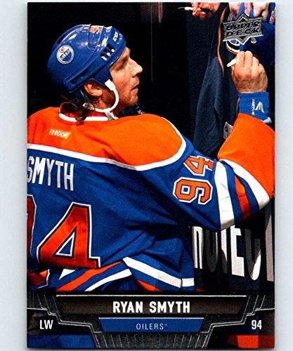 (2013-14 Upper Deck #163 Ryan Smyth Oilers NHL Hockey)