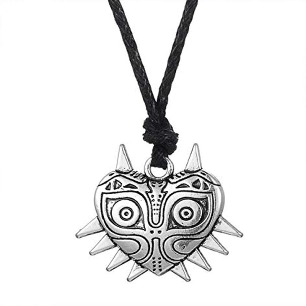Legend of Zelda Majora's Mask Action Video Game Pendant Necklace for Men Women