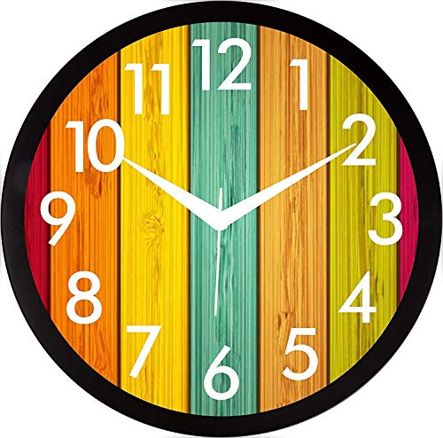 Mishty Wall Clocks for Home and Office (31 cm x 31cm) (7 no)