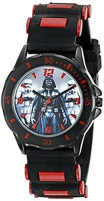 Star Wars Kids' STW3434 Analog Display Quartz Black Watch by Accutime Watch Corp.