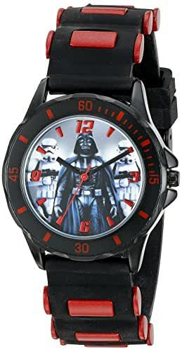 Star Wars Kids' STW3434 Analog Display Quartz Black Watch