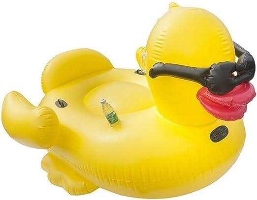 Y-M-H Inflable Flotante Gran Pato Amarillo Monta Piscina Flotador ...