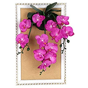 NBSY 3D Wall Hanging Artificial Flowers with Wood Frame,Art Wall Decor for Office and Home 93